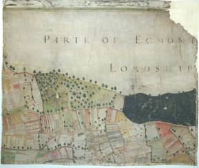Image: A plat and description of the whole mannor & Lordship of Laxton with Laxton Moorehouse in ye county of Nottingham and also of the mannor & Lordship of Kneesall lying adiacent to ye aforesaid mannor of Laxton